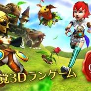 レッドクイーン、「鏡の国のアリス」から200年後の世界を舞台にした新感覚3Dランゲーム『Red Queen』を配信開始