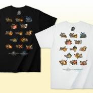 カプコン、『モンスターハンター』歴代タイトルのロゴをプリントしたシリーズ15周年記念Tシャツを発売!