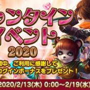 Snail Games Japan、『太極パンダ ~はじまりの章~』にて「バレンタインイベント2020」を開催! ログインで限定称号が入手可能