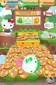 サンリオウェーブとサムザップ、iPhoneアプリ「HELLO KITTY COIN」の提供開始…トップ無料1位獲得