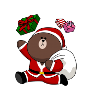 LINE、「LINE GAME」でタイトル横断型クリスマスイベント「ブラウンサンタがやってくる!」を開催 『LINE ポコパン』など9タイトルが対象