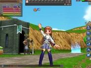 ガンホー、MMORPG『ECO Light』をFacebookで提供…クライアント版と同じワールドに接続可能