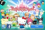 ニフティとサンリオウェーブ、台湾でiPhone向けソーシャルアプリ『Hello Kitty World』の配信開始
