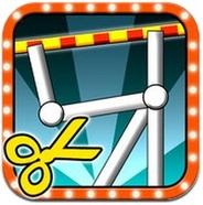 フィジオス、iPhone向けバランスゲーム『ギリギリ切り』を提供…東大の物理シミュレーション技術でリアルさ追求