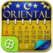 ザッパラス、iPhone向けカレンダーアプリ「水晶玉子のオリエンタルカレンダー」の提供開始