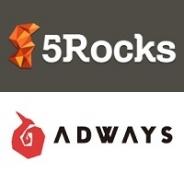 5Rocksとアドウェイズ、グロースハックツール「5Rocks」とアプリ向け広告効果測定システム「PartyTrack」でサービス連携を開始