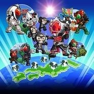 バンダイナムコゲームス、スマホ向けソーシャルゲーム『仮面ライダー ライダバウト!』のプロモ動画を公開