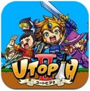 デクー、スマートフォンアプリ版『UTOPIA2』をリリース