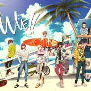 エイベックス、サーフィンが題材のメディアミックスPJ「WAVE!!」のアプリゲームを今冬リリース決定! キービジュアルも解禁!