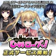 【レビュー】ベクター初のオリジナルネイティブアプリ『東京ダンジョンRPG ひめローグっ!』を紹介 低迷する業績の起爆剤になるのか?