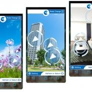 ARアプリ『Comet earth』がサービス開始 ユーザー自身が地球上の対象物全てに書き込め、また読み込める、画像・空間認識アプリ