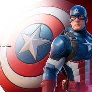 Epic Games、『フォートナイト』で、キャプテンアメリカがアイテムショップに登場!