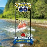 Nianticとポケモン、『ポケモンGO』で8月の「Pokémon GO コミュニティ・デイ」を開始 さかなポケモンの「コイキング」が登場!