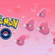 Nianticとポケモン、『Pokémon GO』でバレンタインイベント…「ラブカス」「ラッキー」ゲットで「ほしのすな」が通常の3倍