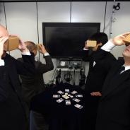 【TGS2016】リアルカードとVRアプリを組み合わせた新感覚4人対戦ゲーム『SPY vs SPY vs SPY vs SPY』出展 VR空間と現実世界を行き来
