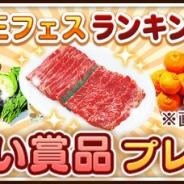 """プレイネクストジャパン、『未来家系図 つぐ me』で肉・魚・お米・野菜などがもらえる「王様のフェスティバルで""""肉""""あげるキャンペーン」を実施"""