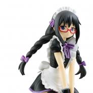 BANDAI SPIRITS、「魔法少女まどか☆マギカ」ほむらのフィギュアが必ず当たるくじを3月30日より発売! マカロンに乗ったメイド服姿の描きおろしイラストを立体化!