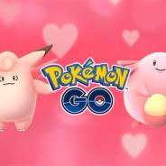 Niantic、『ポケモンGO』でバレンタインイベントを本日より期間限定で開催…もらえるアメの数が2倍に ピクシーやラッキーもたくさん登場!