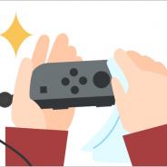 任天堂、スイッチのお手入れ方法公開 「消毒は、アルコール濃度70%程度の消毒液で優しく拭く」