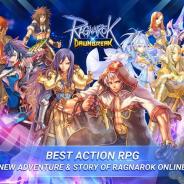 ガンホー子会社の韓国Gravity、モバイル向け新作アクションMORPG『Ragnarok DawnBreak』をインドネシアでリリース!
