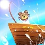 コロプラ、Android向け釣りアクションゲーム『クマ、世界を釣る!』の提供開始