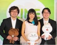 NHN Japan、石原さとみさんを起用した『LINE』の新CMを1月26日より放映開始