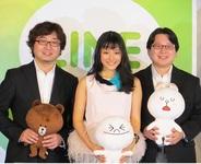 『LINE』新CM発表会をレポート…『LINE』の現状と戦略、そして石原さとみさんがスペシャルゲストとして登場!