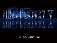 スクウェア・エニックス、『FINAL FANTASY V Original Sound Track Remaster Version』の発売決定