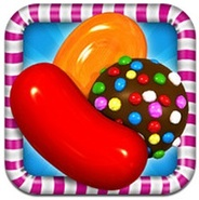 【App Storeランキング(4/21)】テレビCM放送中の『キャンディークラッシュ』が9位に浮上…『ウチ姫さま』もトップ20に復帰