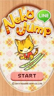 スクエニとLINE、ジャンプアクションゲーム『LINE Neko Jump』の提供開始