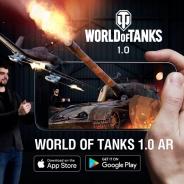 Wargaming、『World of Tanks 1.0拡張現実AR体験』をApp StoreとGoogle Playでリリース…Googleの「ARCore」テックで開発