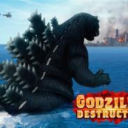 TOHO Games、スマホ向けゴジラゲーム3作品連続リリースの第一弾『ゴジラ デストラクション』の全世界リリース日が4月27日に決定!