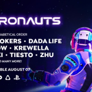 Survios、VR DJツール『Electronauts』をPSVR・OCULUS・STEAMで配信開始 The Chainsmokers、Tiëstoらが楽曲提供へ