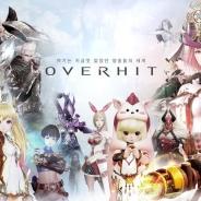 ネクソン、モバイルRPG『OVERHIT(오버히트)』を韓国で正式リリース…App Store売上ランキングでは2位に