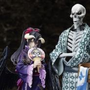 フリュー、TVアニメ「オーバーロード」より浴衣姿の『アインズ』と『アルベド』の1/8スケールフィギュアの発売決定!