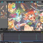 ウェブテクノロジ、超汎用2Dアニメーション作成ツール「OPTPiX SpriteStudio」Ver.6.3.0をリリース メッシュ・ボーン機能の操作性などが向上