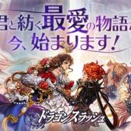 GAMEVIL COM2US Japan、『ドラゴンスラッシュ』で「君と紡ぐ最愛の物語」が開幕