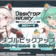 【Google Playランキング(7/30)】「デスクトップアーミー」コラボ開催の『アリスギア』が42→26位 『刀剣乱舞-ONLINE-』トップ30に復帰