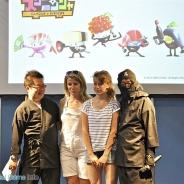 サイバーステップとジェンコ、エクスアーツジャパン、仏で開催の「ジャパンエキスポ」でスマホ向けゲームアプリ『DASH!!スシニンジャ』の制作発表