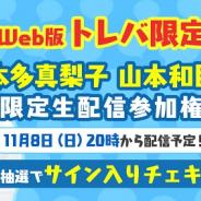 サイバーステップ、『トレバ』で声優・本多真梨子さん、山本和臣さんとのコラボが実現