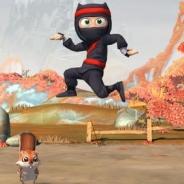 【米AppStore無料ランキング(11/23)】NaturalMotionの超注目作『Clumsy Ninja』が首位獲得