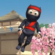 全世界注目のアプリ『Clumsy Ninja』…ついに米国では驚異的な伸びで売上ランキングTOP10目前