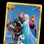 コロプラ、カードRPG『ディズニー マジシャン・クロニクル』で公開目前の映画『アナと雪の女王』の特別ログインボーナスを実施