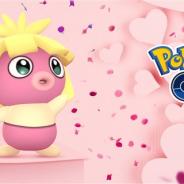 『ポケモンGO』で「Pokémon GO バレンタイン」が開催! 「ピッピ」「ハネッコ」「ラブカス」などピンク色のポケモンが多く出現!