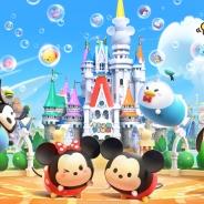 コロプラ、『ディズニー ツムツムランド』の累計利用者数が500万人を突破…サービス開始から約70日間で