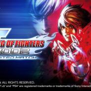 SNK、シリーズ屈指の人気作『KOF 2002 UM』がPS4で登場 ダウンロード版を先行発売
