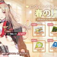 サンボーンジャパン、『ドールズフロントライン』でログインイベントを3月28日より開催…累計7日間で☆3戦術人形「Gr VP70」がもらえる!