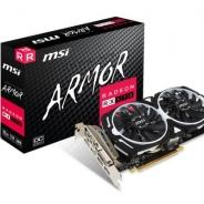 MSI、Radeon RX 570搭載OCモデル「Radeon RX 570 ARMOR 8G OC」を発売 デュアルファンを採用で高い静音性も