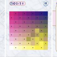 サクセス、「大人ゲーム王国for Yahoo!ゲームかんたんゲーム」に『カラーパレット』を追加 カラータイルを並び替えるパズルゲーム