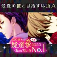 ボルテージ、読み物アプリ「100シーンの恋+」で「100恋+総選挙2020~私のカレがNo.1 ~」本選を開催!